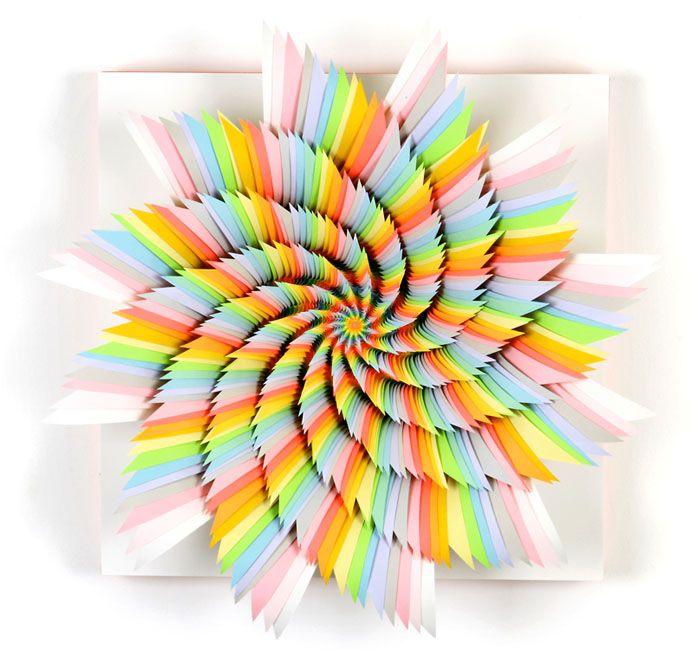 Best Jen Stark Images On Pinterest Paper Art Paper And - Mesmerising hand crafted paper sculptures jen stark
