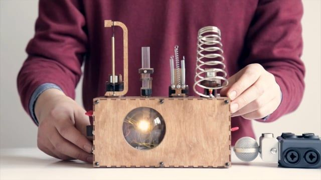 Koka's beat machines are electromechanical musical instruments, which are programmable and produce different kinds of rhythmic and melodic patterns.