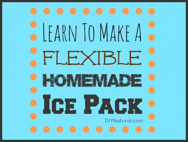 Learn to make homemade, flexible ice packs and stop buying the expensive commercial ice packs. They're reusable, inexpensive, and great as gifts.