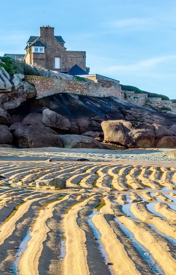 Trégastel, l'ile Renote côtes d'armor Bretagne