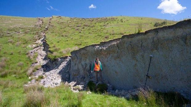 Bill ✔️ Waiau was only kilometres away from the original quake's epicentre. A massive M7.8 earthquake hit Kaikoura, New Zealand on 14 November 2016.    Bill Gibson-Patmore.  (curation & caption: @BillGP). Bill😄✔️