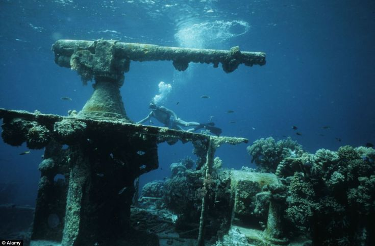 Micronesia: The ghost fleet of Chuuk Lagoon: World's biggest ship graveyard lies at site of WW2 battle where US crushed Japanese fleet