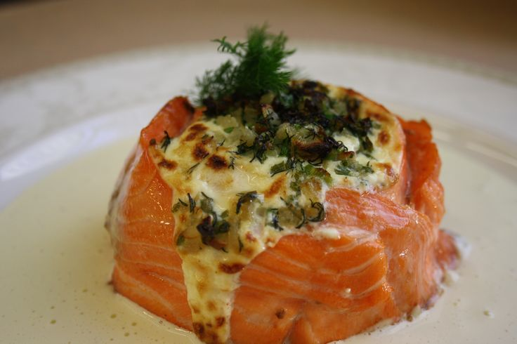 Salmon a'la Moscow