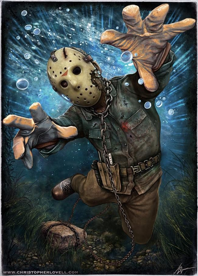 Friday the 13th - Jason by Christopher Lovell *