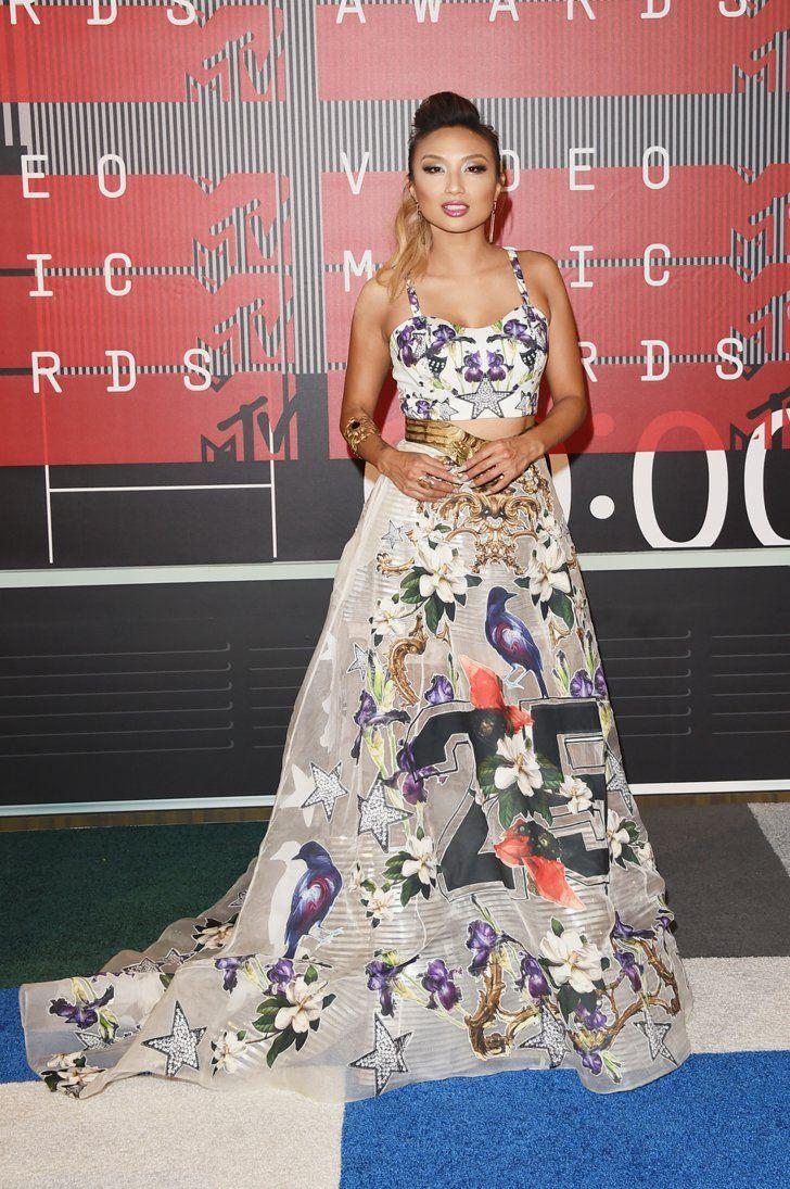 Pin for Later: De Nombreuses Stars Ont Fait le Déplacement Pour les MTV VMAs Jeannie Mai
