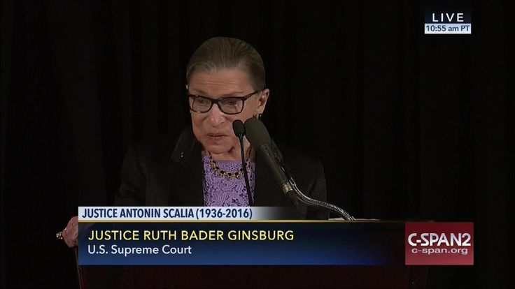 Justice Ruth Bader Ginsburg Eulogy at Justice Scalia Memorial Service (C...
