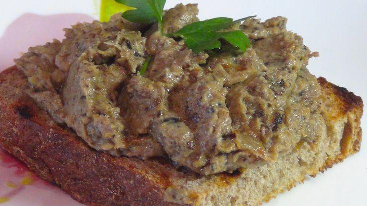 Как приготовить очень вкусный паштет(намазку) из баклажан - YouTube