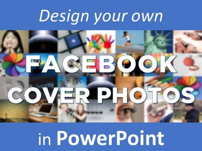 Create #Facebook Cover Photos in #PowerPoint - 15 free designs inside http://www.authorstream.com/Presentation/authorSTREAM-2169460-create-own-facebook-cover-photos-powerpoint/