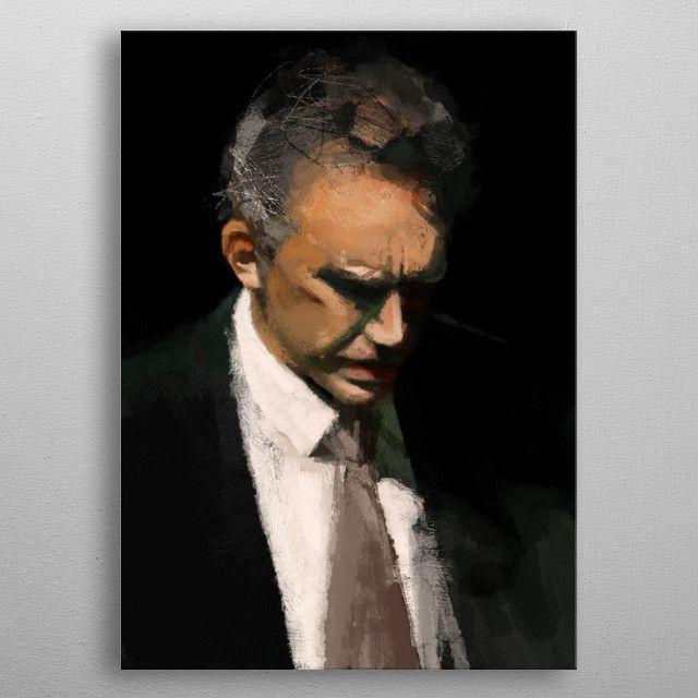 Jordan Peterson Poster Print By Christian Muller Displate Abstract Art Gallery Sale Artwork Print Artist