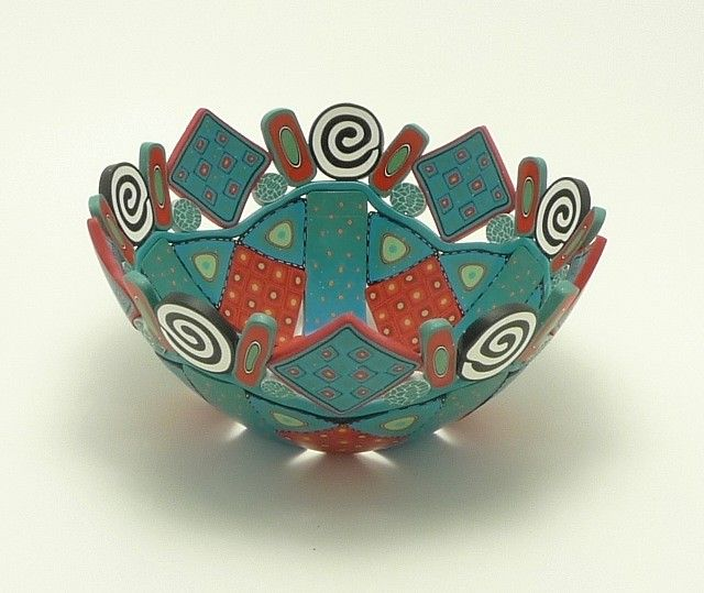 This one really speaks to me.  3-386 - Med/Lg bowl, 2 inches tall x 5 inches diameter by Emily Squires Levine