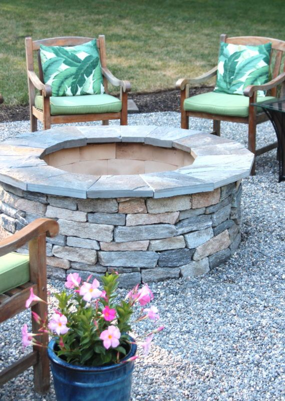 how to install a pea stone patio