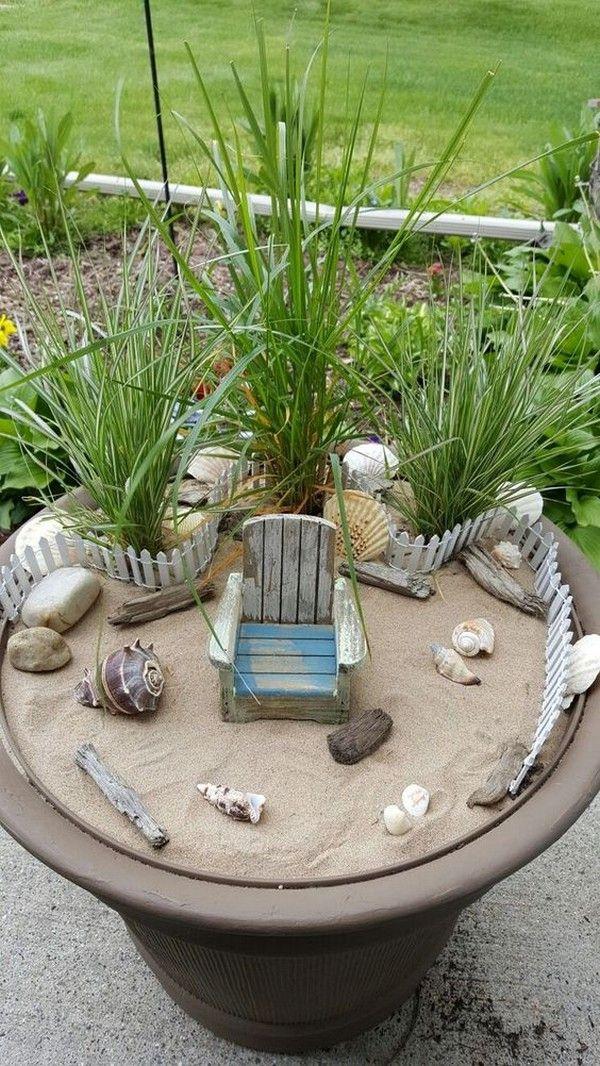 18 wunderbare Strand Stil Outdoor Living Ideen für Ihren Hof #ideen #ihren #living #outdoor #strand #wunderbare