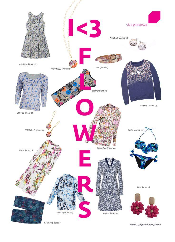 Stary Browar <3 Flowers! W tym sezonie kwiaty w modzie rozkwitły na całego. Tego lata możemy zaszaleć i wybrać dowolny kwiatowy temat niezależnie od stylu i okazji, na której chcemy wyglądać naprawdę modnie.