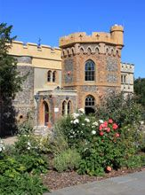 Whitstable Castle in Kent, UK built in 1789 by Charles Pearson for a private residence now open to the public