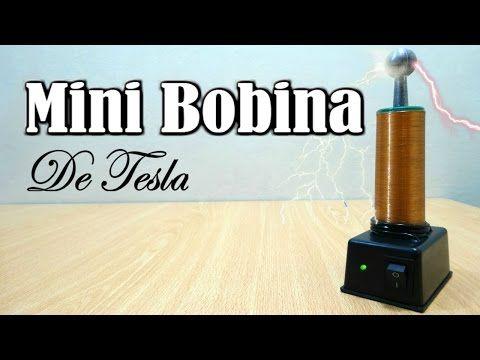 Como Hacer Una Bobina De Tesla Casera Youtube Bobina De Tesla Bobina De Tesla Casera Tesla