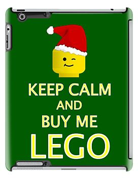 KEEP CALM AND BUY ME LEGO by Chillee Wilson from Customize My Minifig by ChilleeW