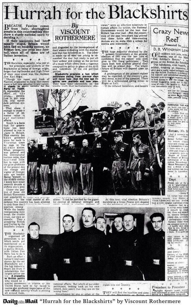 The Daily Mail: Hating The British People (Especially Women & Immigrants) Since 1933 And Why We Need Leveson Enacted In Full