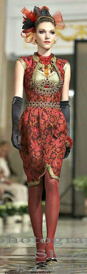 Russian designer Slava Zaitsev | The House of Beccaria~