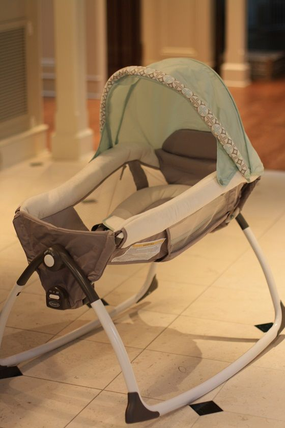 Expectant mom must-have- the new Graco Little Lounger 2-in-1 rocker and vibrating seat