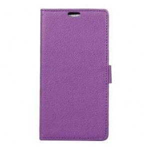 Husa Samsung Galaxy S8 Plus, Tip Portofel, Mov/ Purple, Inchidere Magnetica, Piele Ecologica