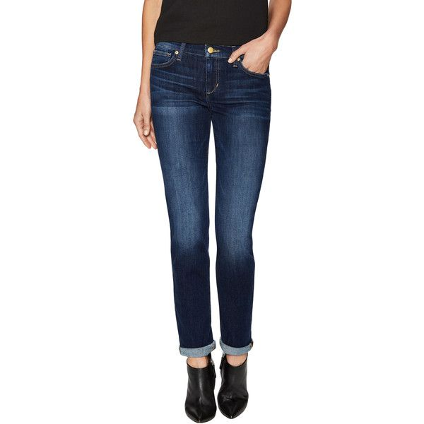 Joe's Jeans Women's Mid-Rise Faded Cigarette Jean - Size 24 (105 CAD) ❤ liked on Polyvore featuring jeans, cigarette leg jeans, destruction jeans, ripped jeans, cigarette jeans and zipper jeans