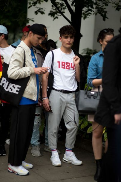 The strongest street style at London Collections Men S/S '17 Breanna Ramirez