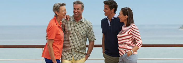 THE JOY OF CRUISING Welcome to today's Holland America Line — classic, premium and energized with new ideas. You can see it in the growing list of new experiences we offered to guests. Contact your agent today for details.