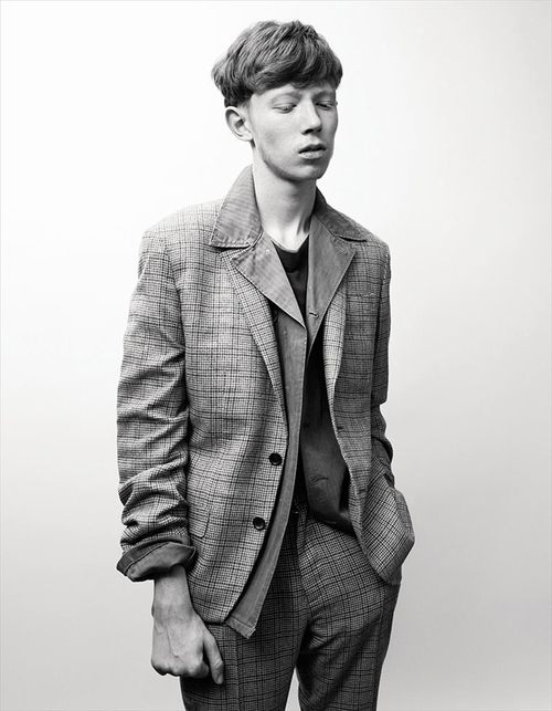 Menswear: Tailoring. King Krule shot by Willy Vanderperre in the latest issue of AnOther Man magazine.