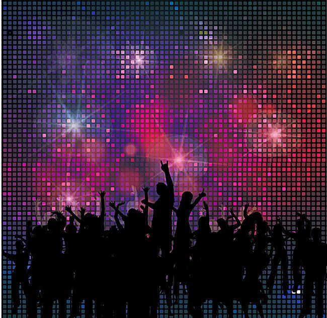 Rave Poster Background Material Background Images Poster Background