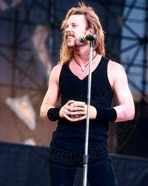 """A killer shot of James Hetfield from Metallica. Black album years. """"I've been to their concert in 89 and 92, when they were Kings"""" someone once told me. Do you agree?  www.HeavyMetalTshirts.net . #metal #metalmusic #metalheads #metalhead #headbang #headbanger #longlivemetal #metalband #headbangers #heavymetalband #heavymetalfans #metalfans #metalmusicfans #thrashmetalfan #metalfan #metallife #metallifestyle #metalmusician #metalmusicians #heavymetalfan #metalguy #metallica #jameshetfield"""