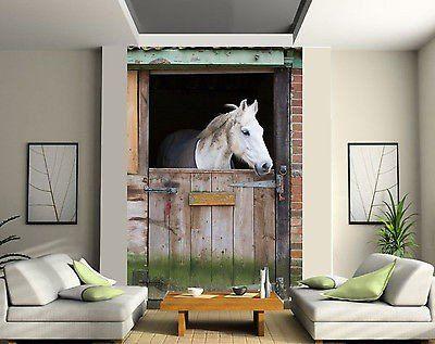 Die besten 17 ideen zu pferdeboxen auf pinterest pferdest lle pferdest lle und st lle - Pferde tapete kinderzimmer ...