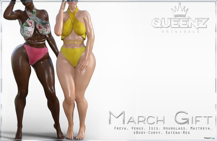 Top & Panties March 2018 Group Gift by QUEENZ