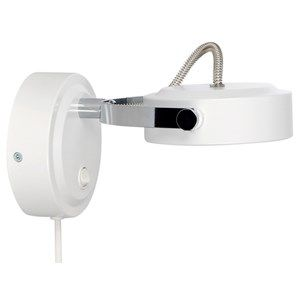 Rollo LED wall lamp, made in Sweden by Belid.