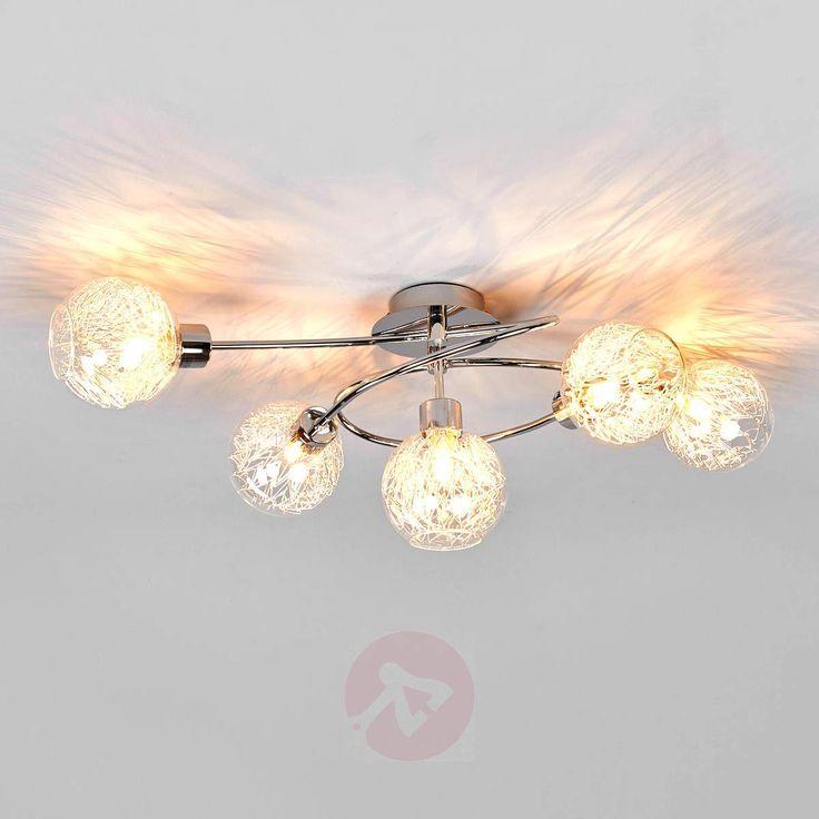 Paulina taklampe med fem lys-9970011-38