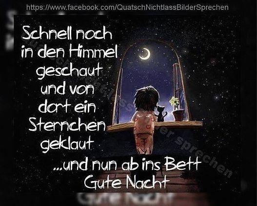 Gute Nacht...