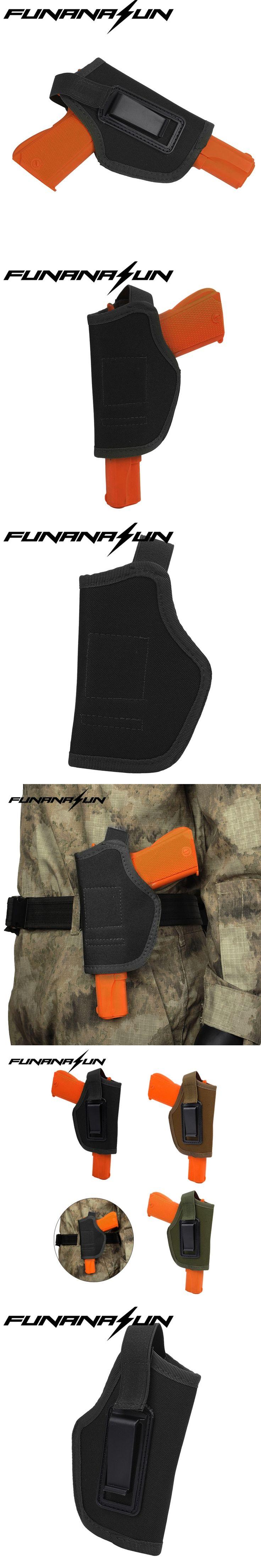 IWB Holster Inside Waistband Concealed Belt Pistol Holster for GLOCK 17 19 22 23 32 33 Ruger Nylon Gun Holster