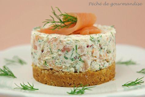 Cheesecake com salmão defumado – Pecado da gula