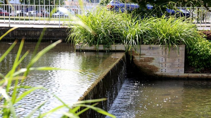 HTA Restored Jellicoe Water Gardens - Opened on the 22nd of July at Hemel Hempstead - HTA Design LLP