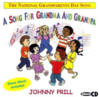 A Song for Grandma and Grandpa CD includes Free Sheet Music and a Music Video