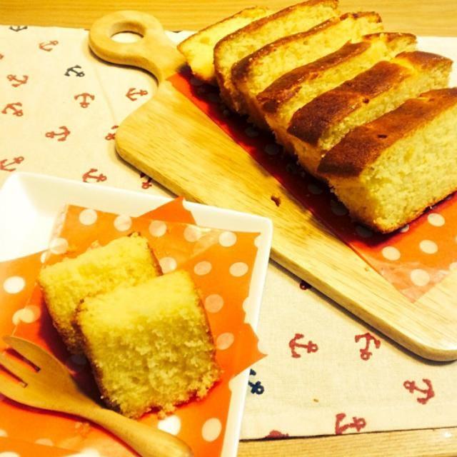 morimiさんのレシピでつくった梅ジャムをつかって 梅ジャムパウンドケーキつくりました♡.°⑅ しっかり梅の味がのこっててふわふわのパウンドケーキです♬.*゚ - 199件のもぐもぐ - *梅ジャムパウンドケーキ* by chocoaya