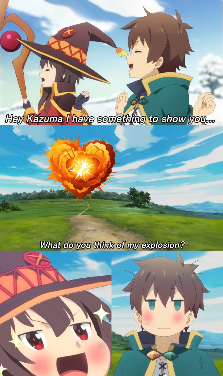 An explosion of love in 2020 Anime, Anime irl, Anime memes