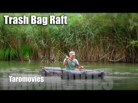 HOW TO Build a Survival Trash-Bag Raft/HD Bushcraft Survival Video - YouTube
