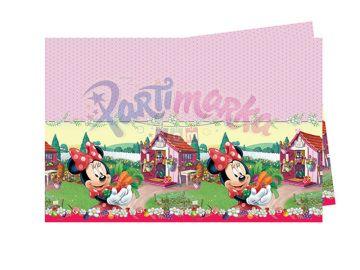 Minnie Mouse Doğum Günü Masa Örtüsü