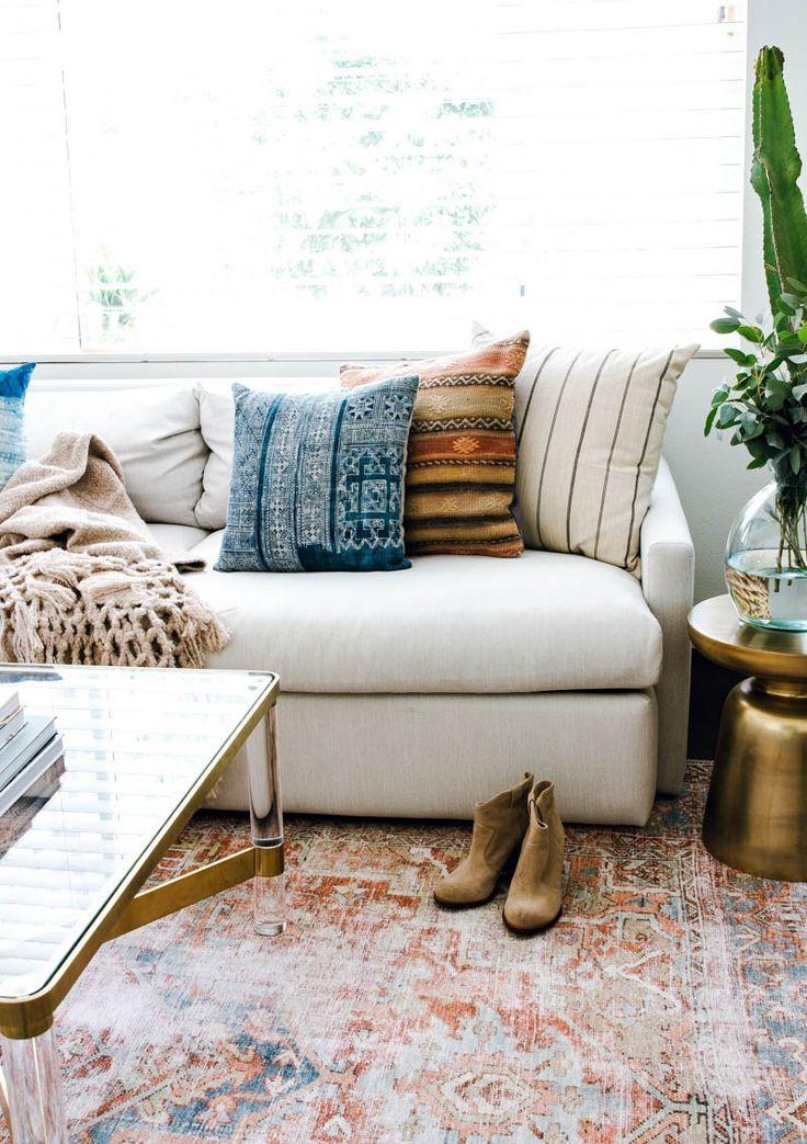 The Only White Sofa You Will Ever Need To Own Anita Yokota White Sofa Living Room White Sofas Family Room Design