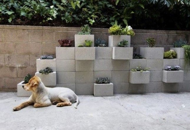 13 Creative Ways to Use Cinder Blocks via Brit + Co.