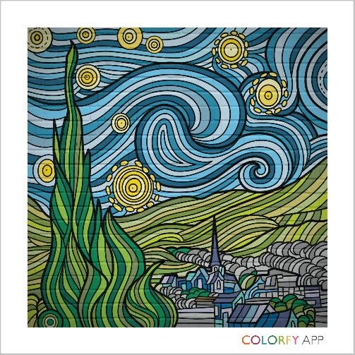 9th #colorfy