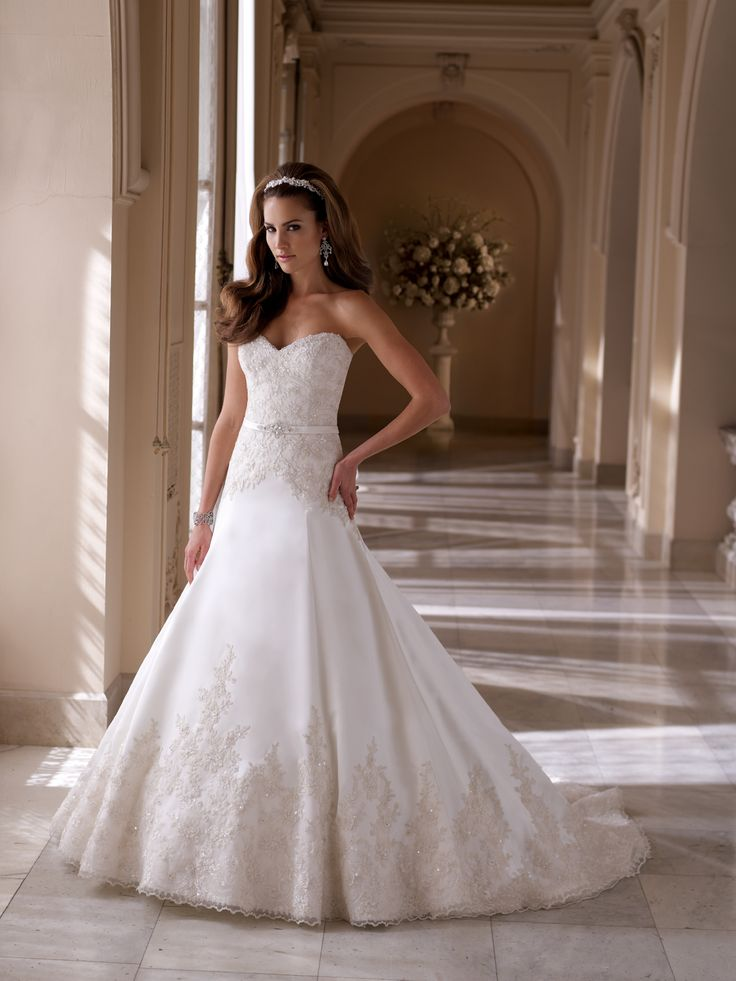 Dixie, David Tutera for Mon Cheri, Wedding Dress