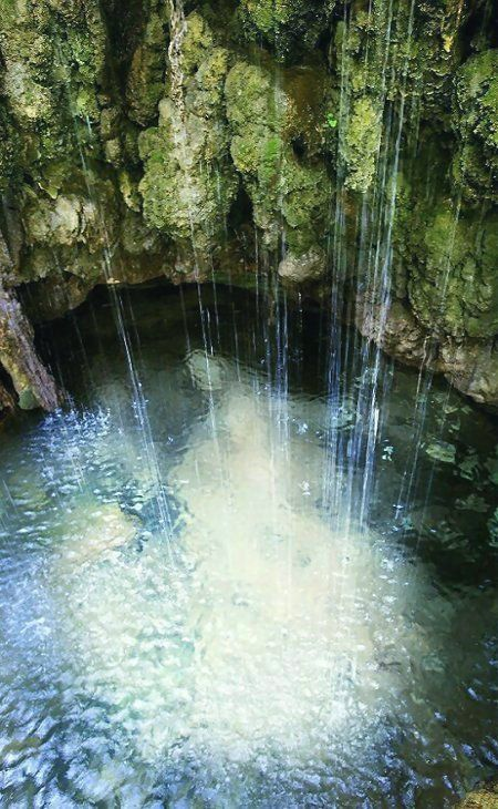 The Baths of Aphrodite in Akamas, Cyprus