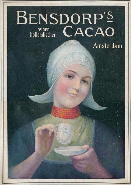 Vintage Advertising....Bensdorp's Cacao