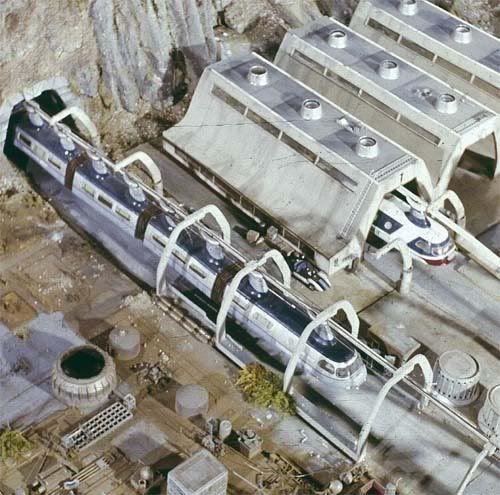 Pacific-Atlantic Monorail - Space 1999 Eagle Transporter Forum
